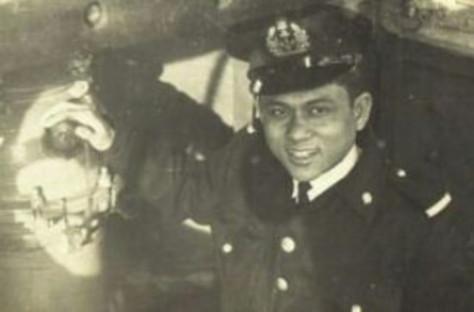 Yulius Tiranda di Polandia 1958 (Dispen ALRI)