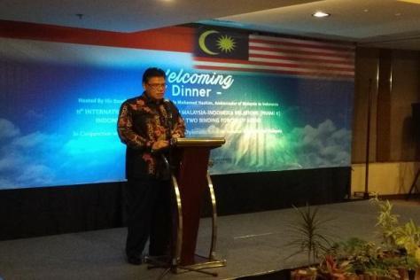Duta Besar Malaysia untuk Malaysia untuk Indonesia Dato Seri Zahrain Mohamed Hashim. (Sindonews)