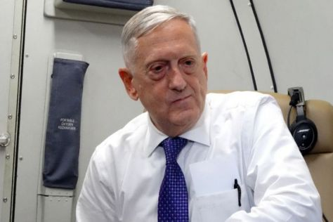 Menteri Pertahanan Amerika Serikat James Mattis (AFP)