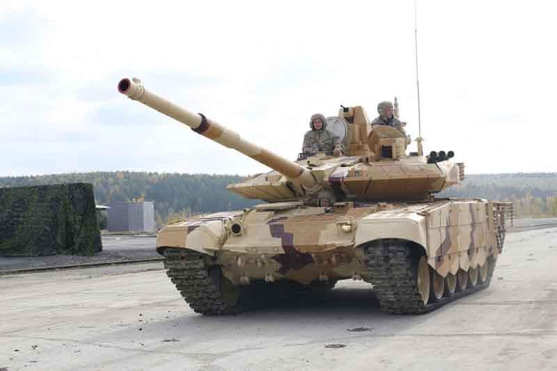 T-90MS di RAE 2013