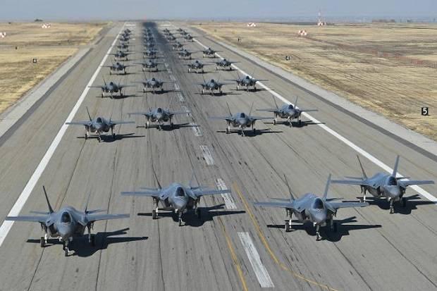 AS Kembali Uji Kemampuan Jet Tempur F-35