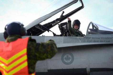 CF-18 Angkatan Udara Kanada (AFP)