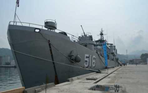 KRI Teluk Banten - 516 (Radar Lampung)