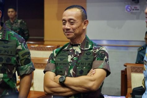 Jenderal TNI Mulyono (Kompas)