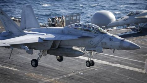 F-18 AS (REUTERS)