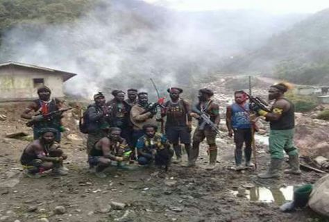 Kelompok kriminal bersenjata di Papua (iNews)