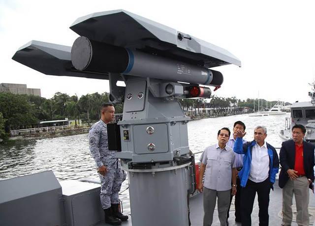 Angkatan Laut Filipina Akan Beli Lebih Banyak Rudal