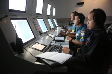 Latihan Praktek Simulator AAW ASUW