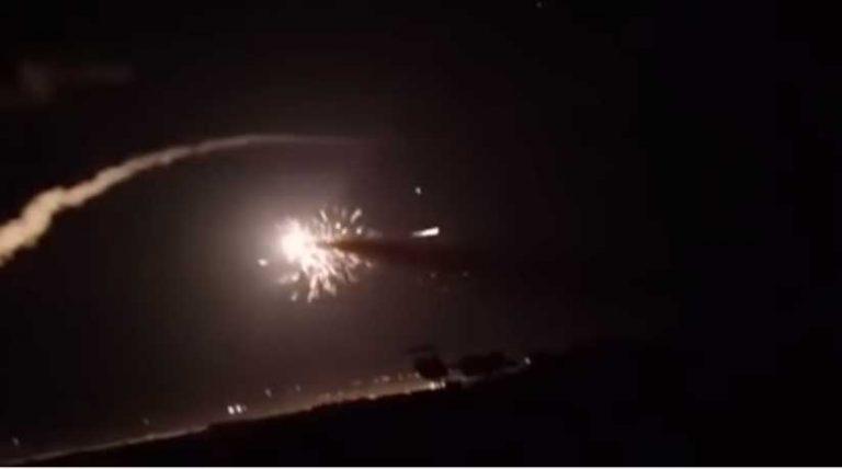 Sistem Pertahanan Udara Suriah Diklaim Rontokkan Sejumlah Rudal Israel