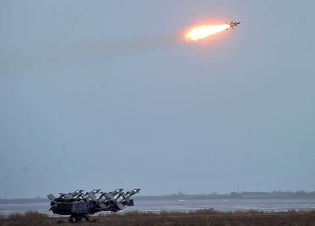 Ukraina Uji Coba Sistem Rudal S-125 Upgrade