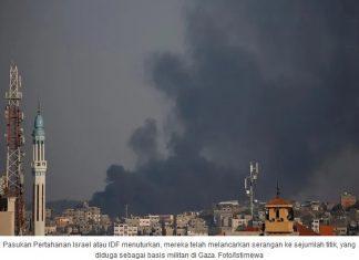 Israel Bombardir Gaza Untuk Balas Serangan Balon