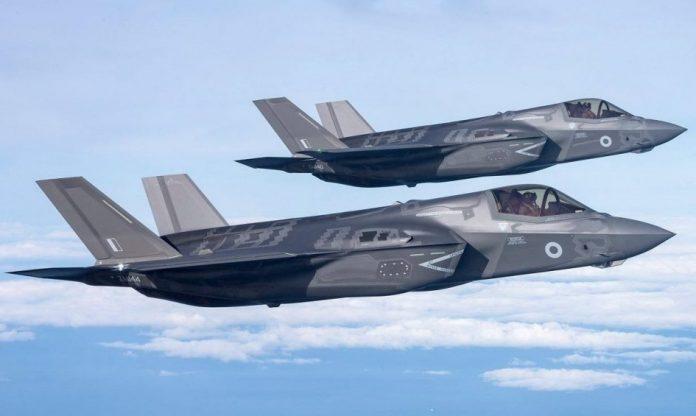 Misi Operasional Pertama F-35 Inggris : Mondar Mandir Siprus - Suriah - Irak